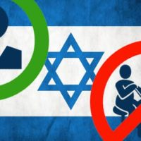 Green sign to Web Game Related Companies in Israel, Red sign to Israelis Taking Part with Them